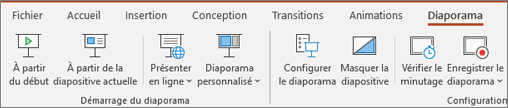 Diaporama - Office 365 PowerPoint