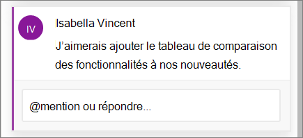 Commentaires