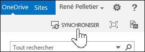 Synchroniser OneDrive Entreprise dans SharePoint2013