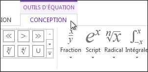 Outils d'équation