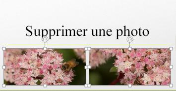 Lorsque vous maintenez la touche Ctrl enfoncée, vous pouvez sélectionner plusieurs images.