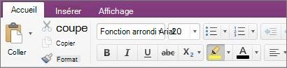Cliquez sur le bouton couleur de surbrillance du texte