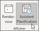 Afficher l'Assistant Planification