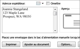 Publipostage Avec Des Enveloppes Word