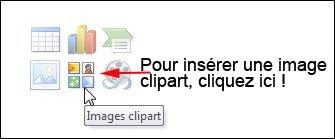 Click the Clip Art button.