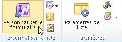 Formulaires de liste InfoPath pour SharePoint
