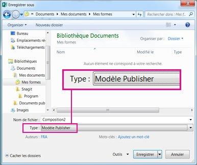 Enregistrez votre publication comme modèle à réutiliser.