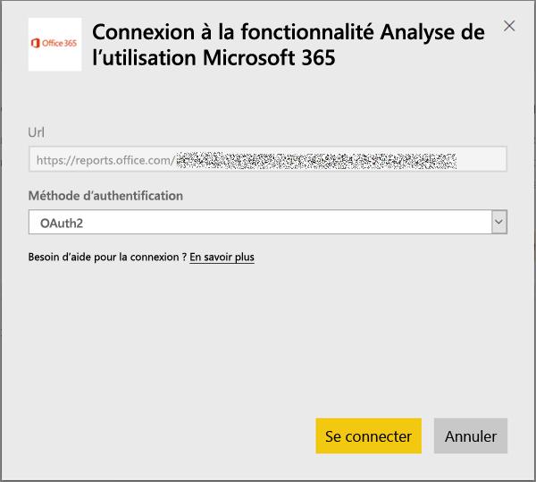 Sélectionner oAuth2 comme méthode d'authentification