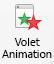 Bouton du Volet animation.