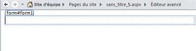 Ajout de pages sur SharePoint Designer2010