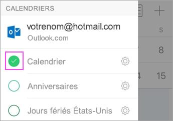 Synchroniser Calendrier Outlook Avec Iphone.Le Calendrier Ou Les Contacts Ne Peuvent Pas Etre