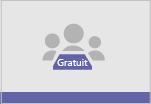 Miniature page d'accueil pour Teams (version gratuite)