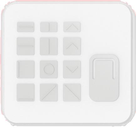 Carte avec les cartes de touches du kit adaptatif pour Surface.