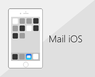 Courrier dans l'application Mail iOS