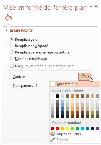Mettre en forme la couleur d arri re plan des diapositives - Comment mettre une photo en arriere plan sur open office ...