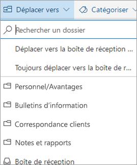 Boîte de réception Prioritaire dans Outlook sur le web