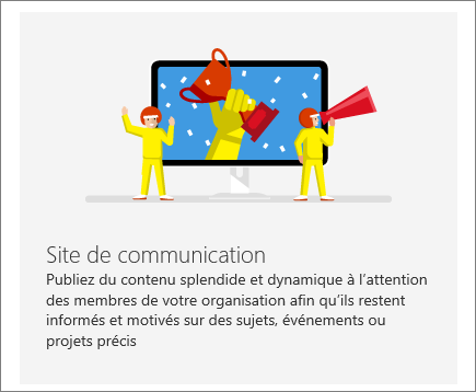 SharePoint - Office 365 - Site de communication