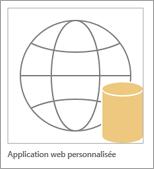 Icône de l'application web Access personnalisée