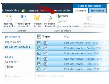 Extraction de documents multiples
