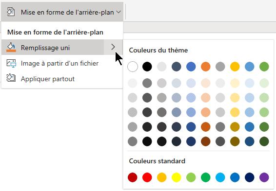 Changer Larrière Plan De Vos Diapositives Dans Powerpoint