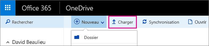 Télécharger des fichiers sur OneDriveEntreprise.