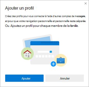 Ajouter un profil dans Microsoft Edge