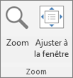 Zoom group on the PowerPoint ribbon