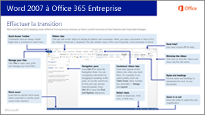 Miniature du guide pour passer de Word 2007 à Office 365