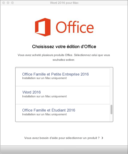comment installer le pack office 2011 sur mac