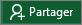 Bouton Partager dans le ruban Excel2016