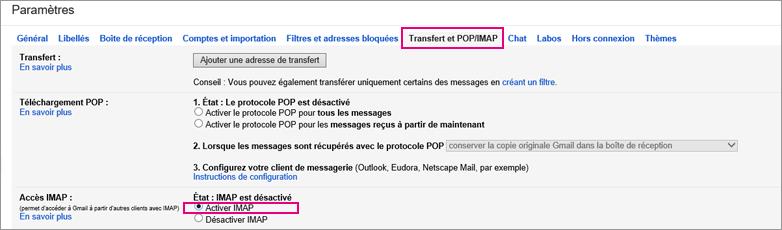 how to change from pop to imap in outlook 2016
