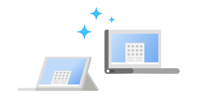 2 types différents d'appareils exécutant Windows11