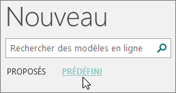 Capture Decran Des Categories De Modeles Integres Dans Publisher