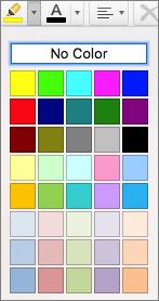 Sélectionnez une couleur