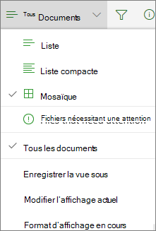 Office 365 Change document library view