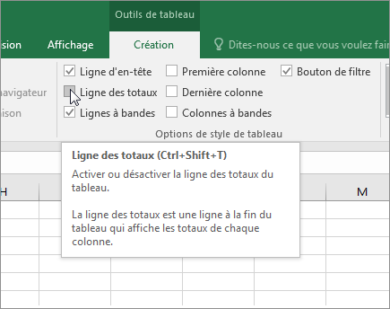 Totaliser les donn es d un tableau excel support office - Comment faire un tableau sur open office classeur ...