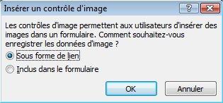 Inclure les pièces jointes, les images ou les liens hypertexte