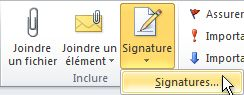 bouton signature outlook