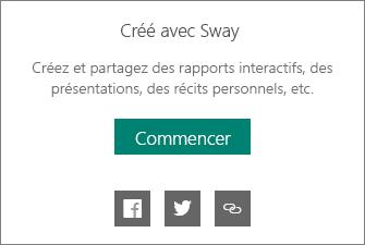 Mention Créé avec Sway