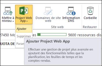 Project Web App > Ajouter