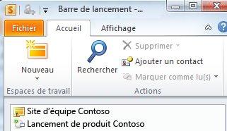 Espace de travail SharePoint marqué d'une icône d'erreur de synchronisation