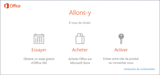 utiliser des cl s de produit avec office 365 office 2016 ou office 2013 support office. Black Bedroom Furniture Sets. Home Design Ideas