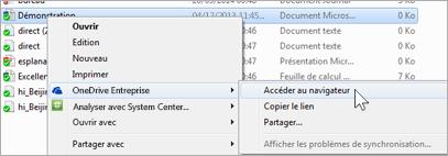 Afficher un fichier dans un dossier synchronisé dans un navigateur web