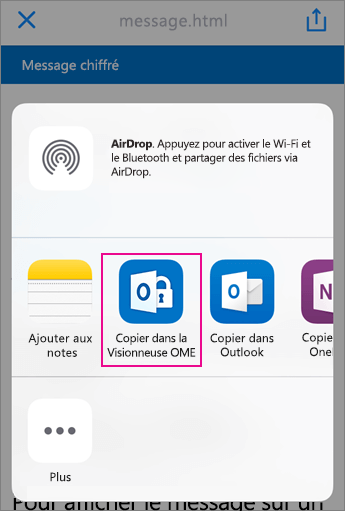 Visionneuse OME avec Yahoo 3