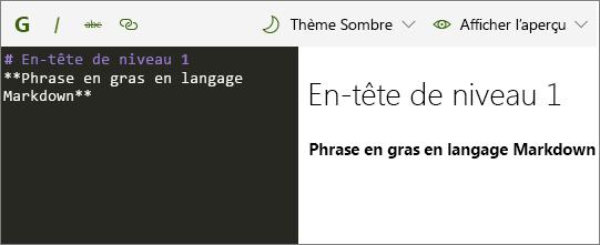 Composant WebPart déMarque