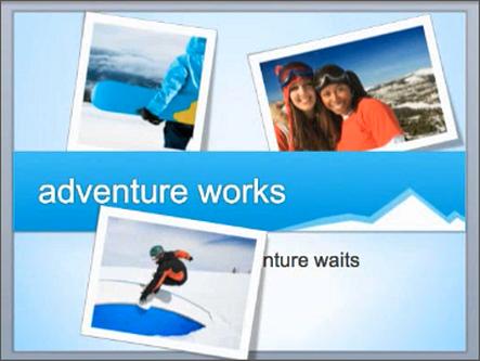 Exemple de diapositive avec des problèmes de calque