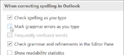 vérification grammaticale