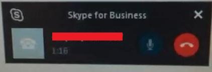 A screen shot of call monitor
