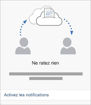 Activer les notifications
