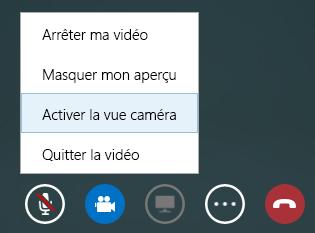 Capture d'écran du changement de vidéo